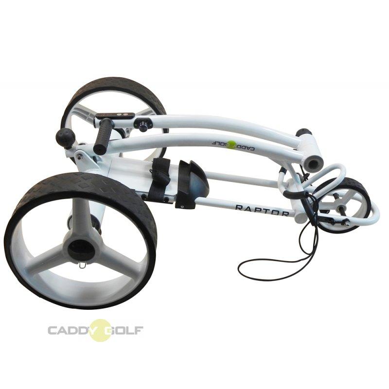 caddy golf raptor weiss elektro golf trolley 429 00. Black Bedroom Furniture Sets. Home Design Ideas