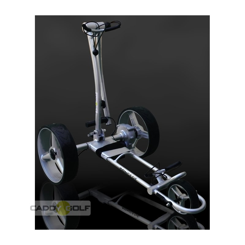 caddy golf concede rauchsilber elektro golf trolley 329 00. Black Bedroom Furniture Sets. Home Design Ideas